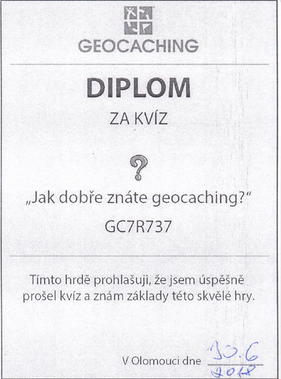 Diplom GC7R737